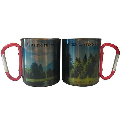 Into The Forest I Go Mug