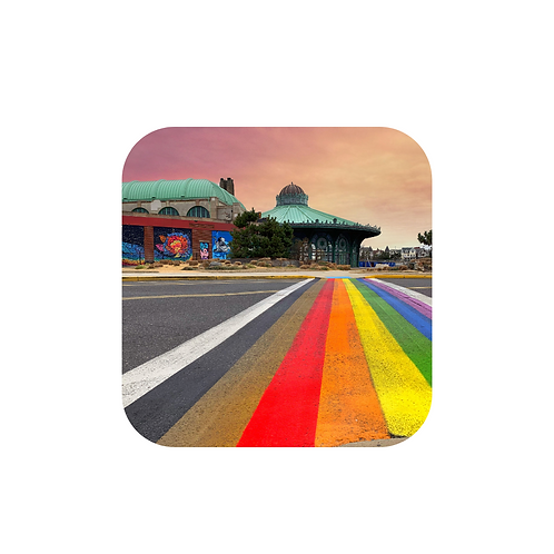Magnet - Rainbow Walkway