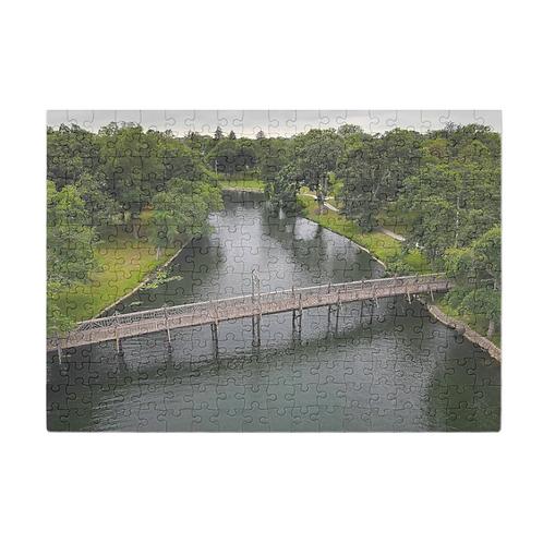 Puzzle & A Print: Spring Lake