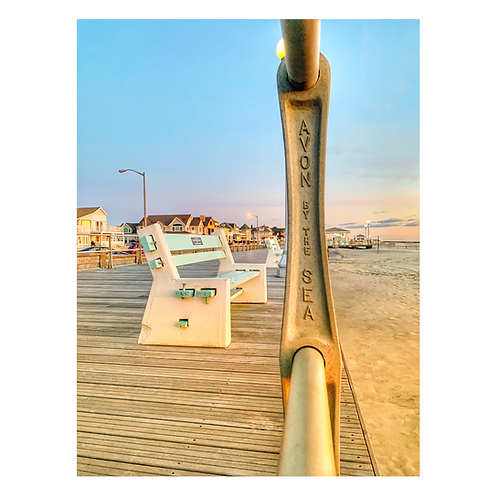 Avon By The Sea Cutting Board