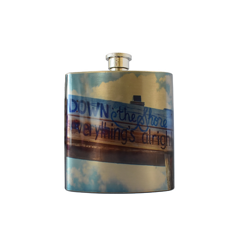 Down The Shore Flask