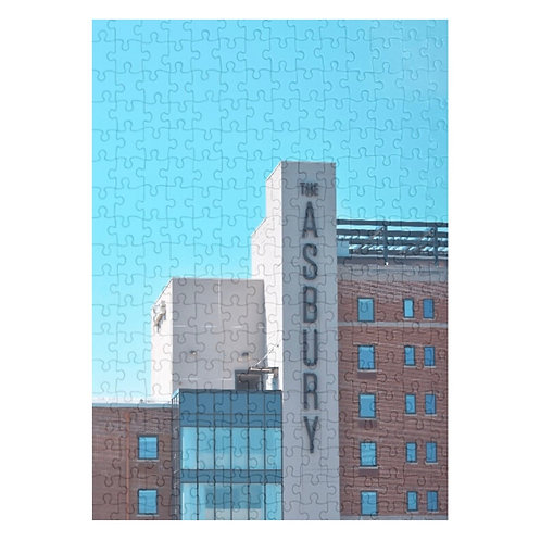 Puzzle & A Print: Asbury Hotel