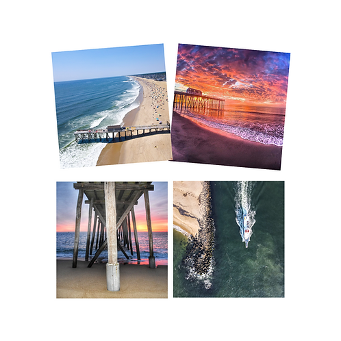 Belmar Beach Coaster Set of 4