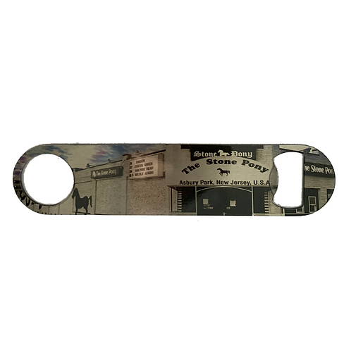 Stone Pony Bottle Opener - Double Sided