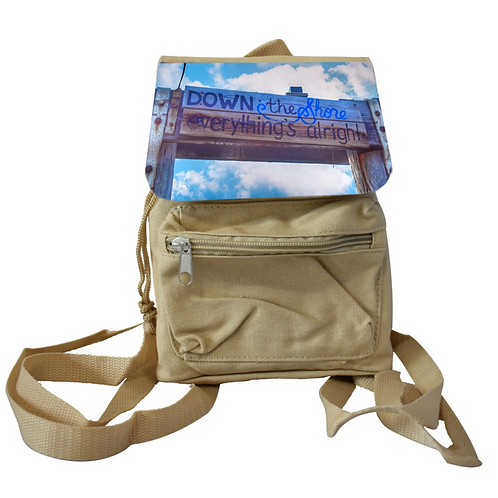 Down the shore - Mini Backpack