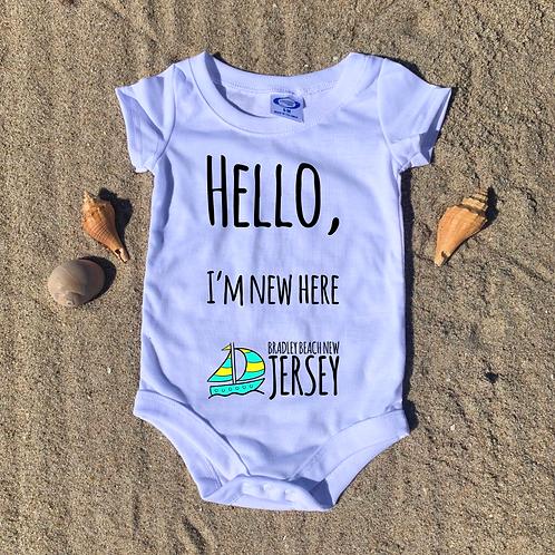 Hello, I'm new here! Jersey Shore Baby Onesie