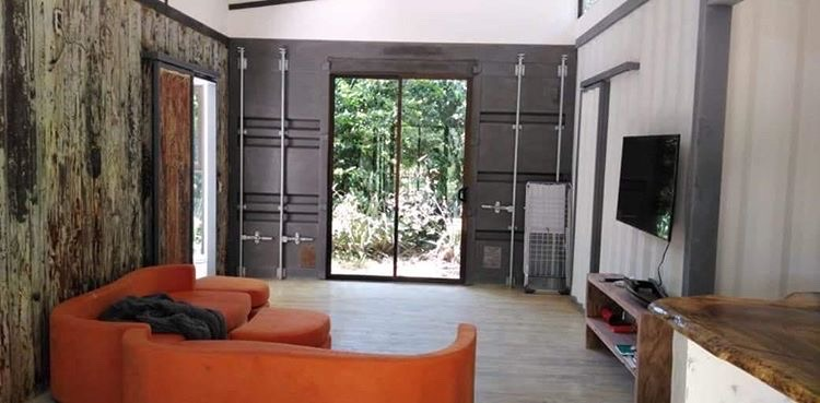 Inside Container Home Tama