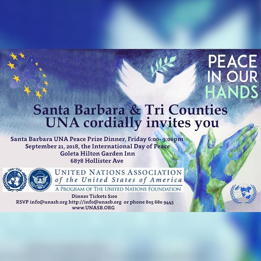 Santa Barbara UNA Peace Prize Dinner