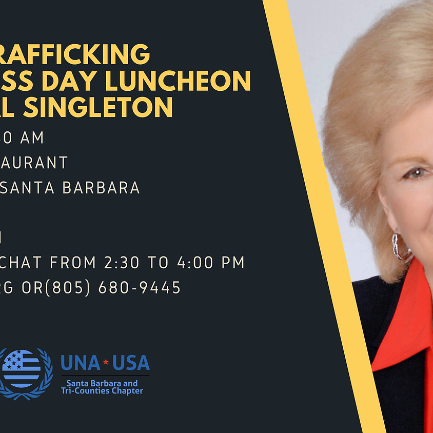 Human Trafficking Awareness Day Lunch with Opal Singleton