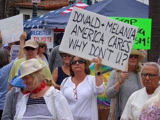"Nationwide ""Families Belong Together Rally"" In Santa Barbara"