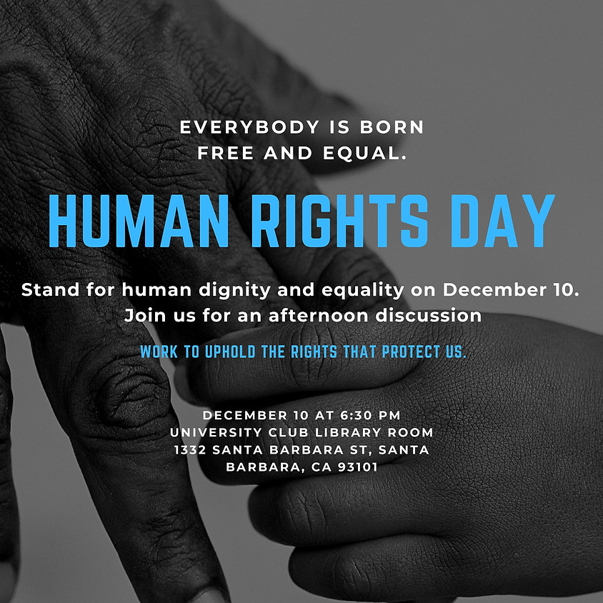 Human Rights Today, More Important Than Ever