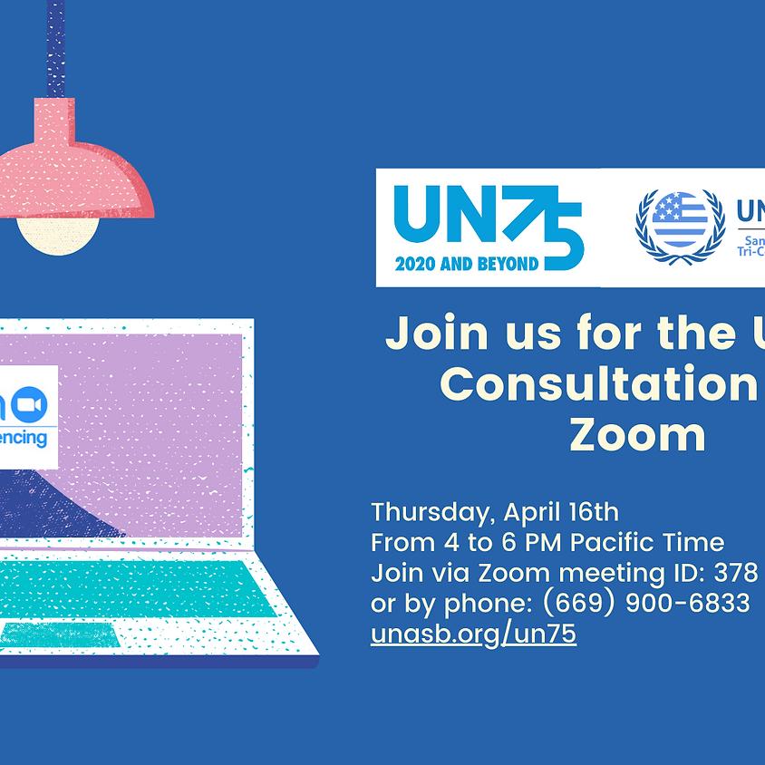 UN 75 National Consultation