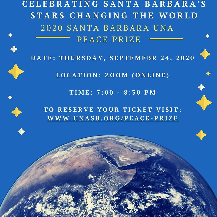 2020 Santa Barbara UNA Peace Prize Online Ceremony
