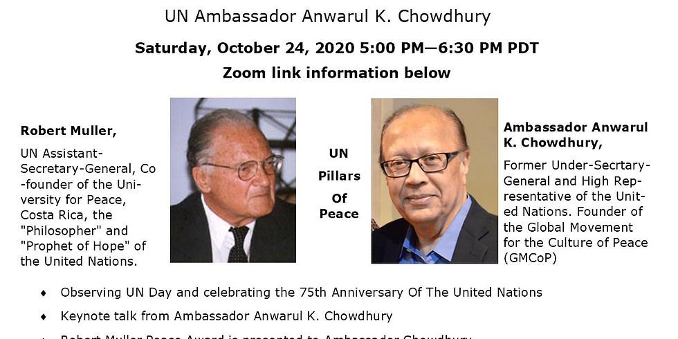 UN Day & Robert Muller Peace Prize Award Event
