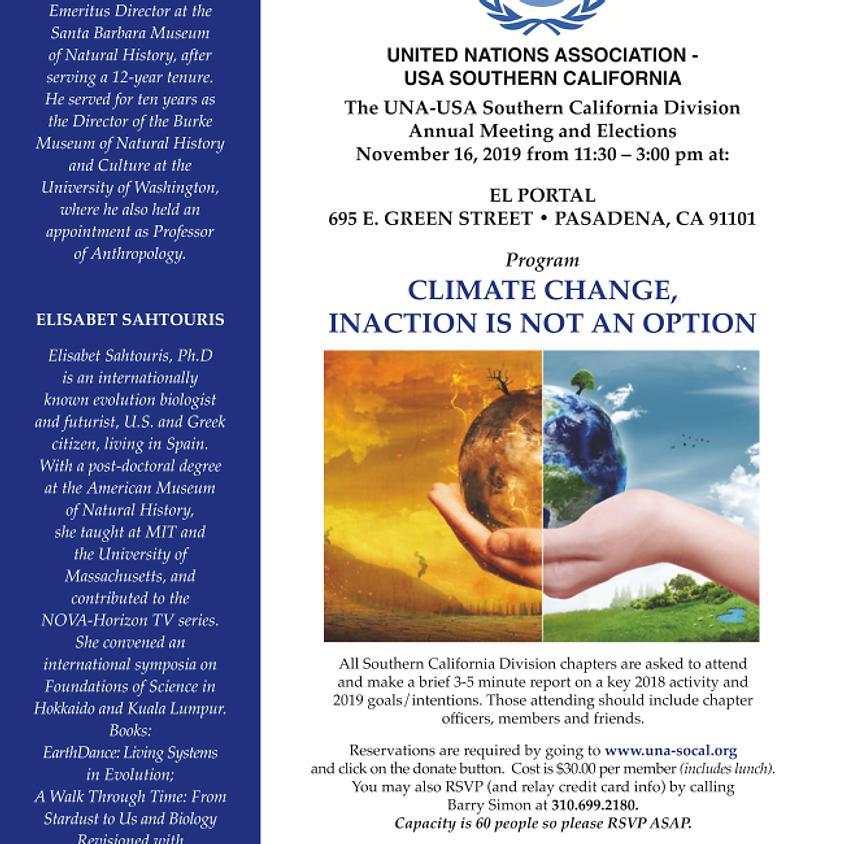 UNA-USA Southern California Division Annual Meeting