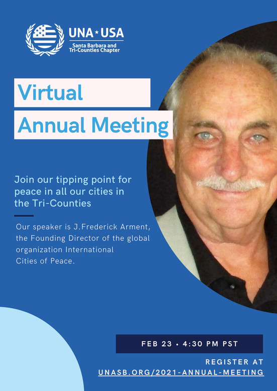 Join us to become a city of peace!