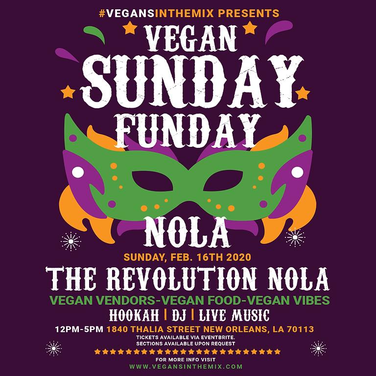 Vegan Sunday Funday NOLA