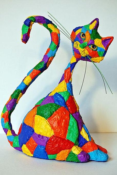 Gato Retacitos de Colores