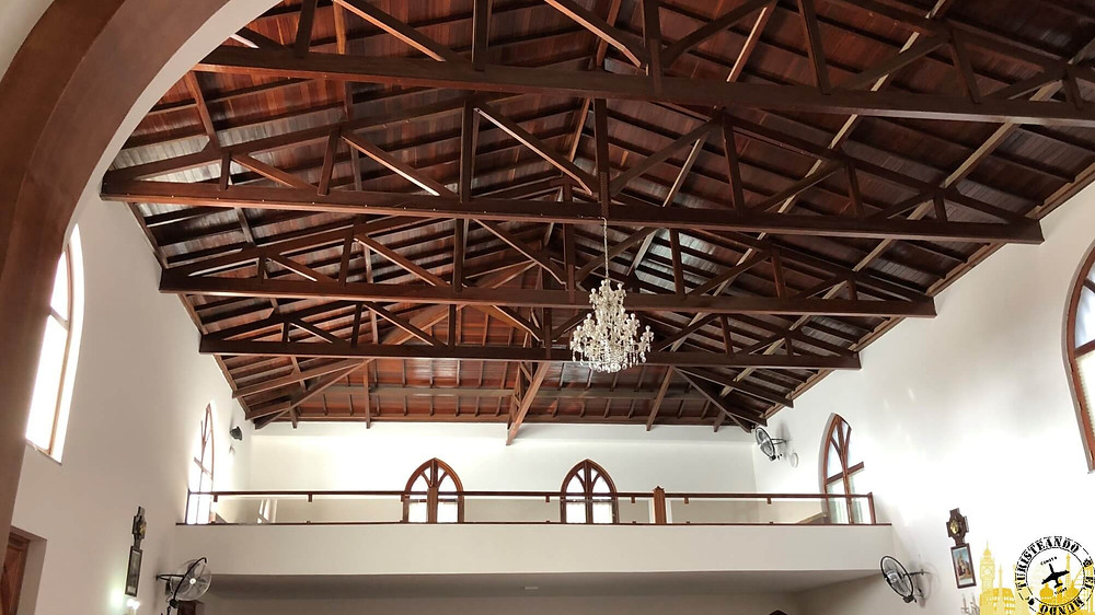 Isla de Santiago. Tarrafal (Iglesia San Amaro). Cabo Verde