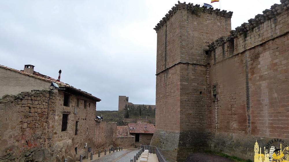 Castillo de los Fernández de Heredia, Mora de Rubileos (Teruel)