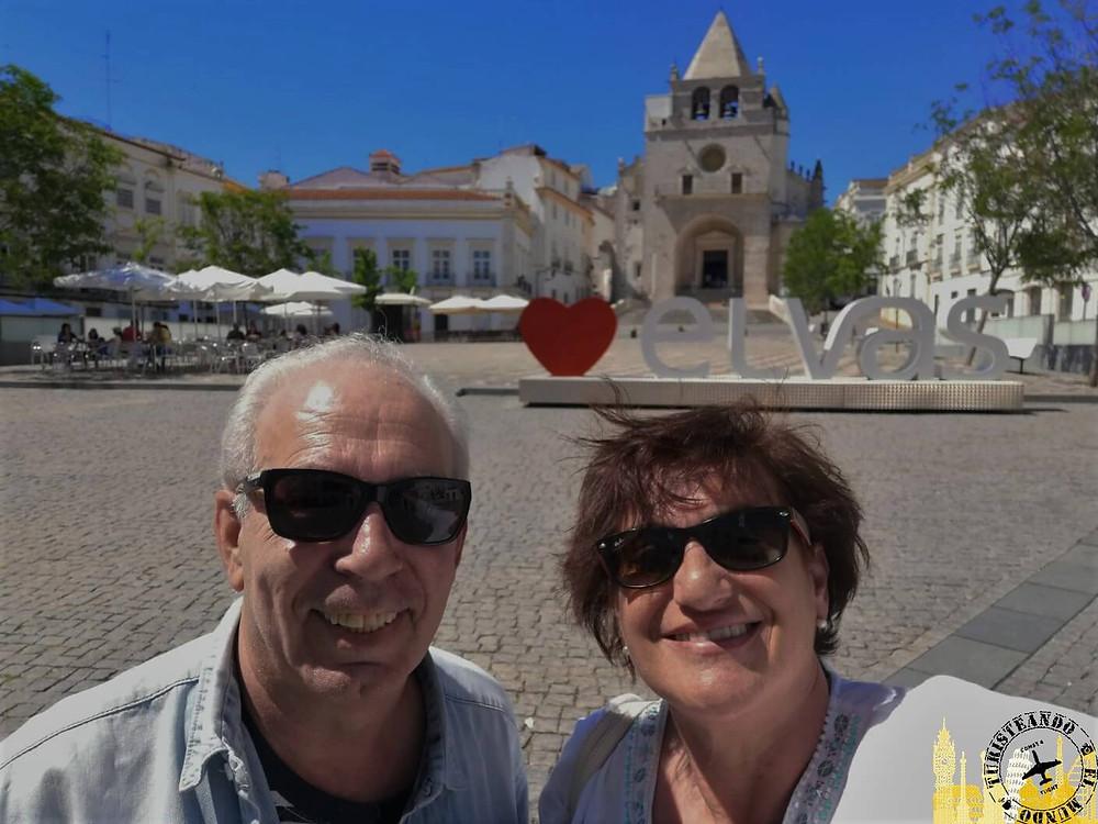 Plaza de la República. Elvas (Portugal)