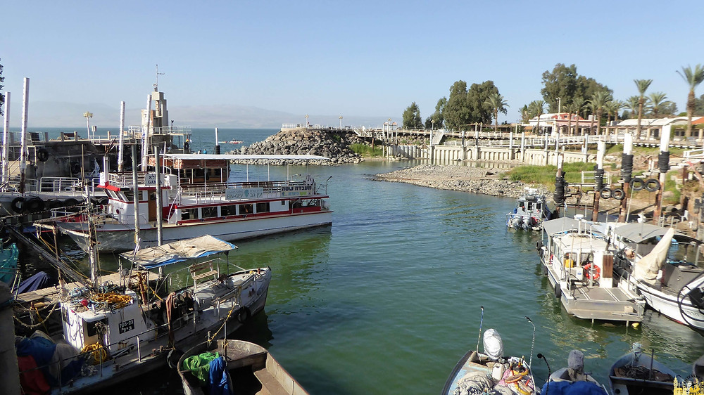 Paseo en barco por el Mar de Galilea, Israel
