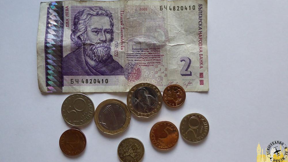 Monedas búlgaras