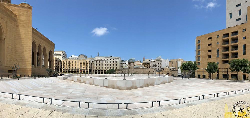 Beirut. Plaza Martires