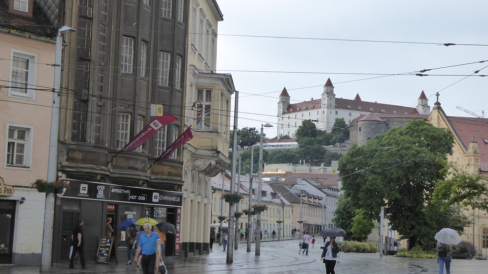 Castillo de Bratislava (Eslovaquia)