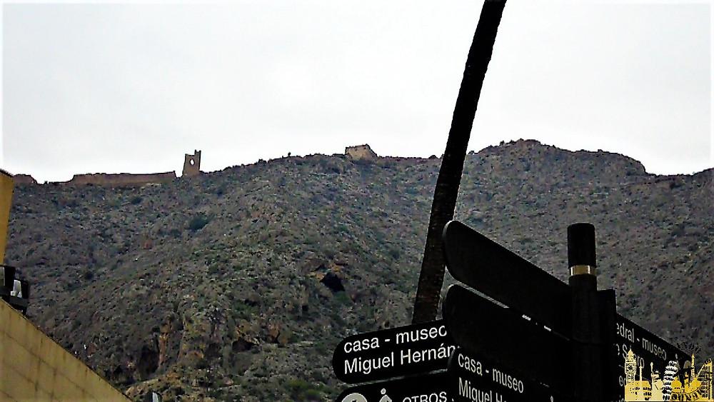 Castillo, Orihuela (Alicante)