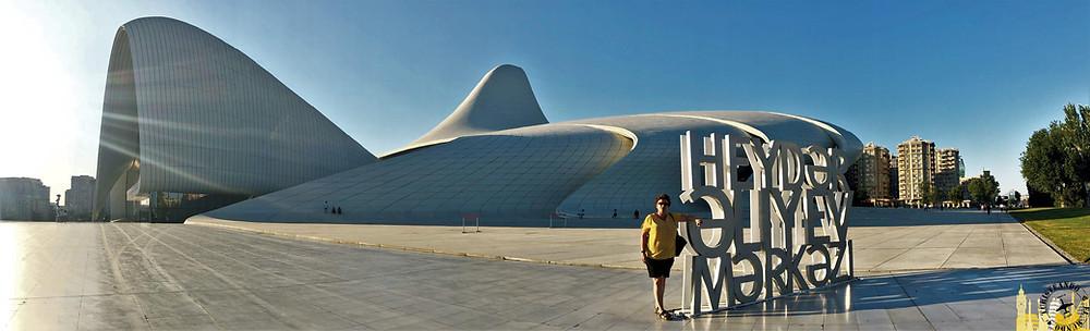 Halib Aliyeb Centre Bakú, Azerbaiyán