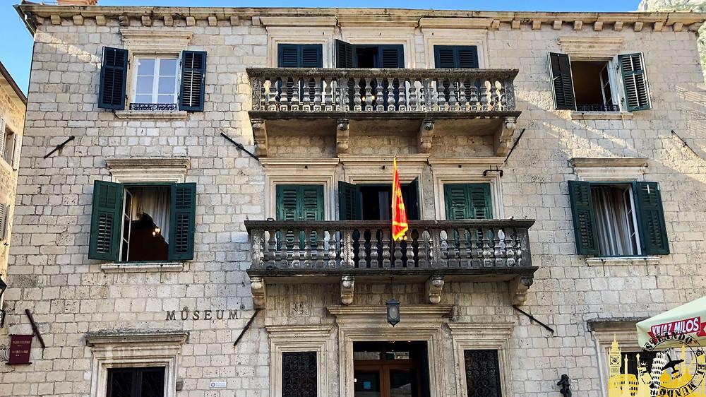 Kotor (Montenegro). Palacio Grgurina