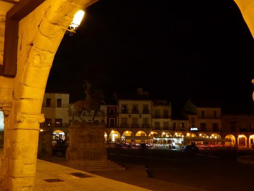 Trujillo, Cáceres capital y Alcántara. Extremadura (España).