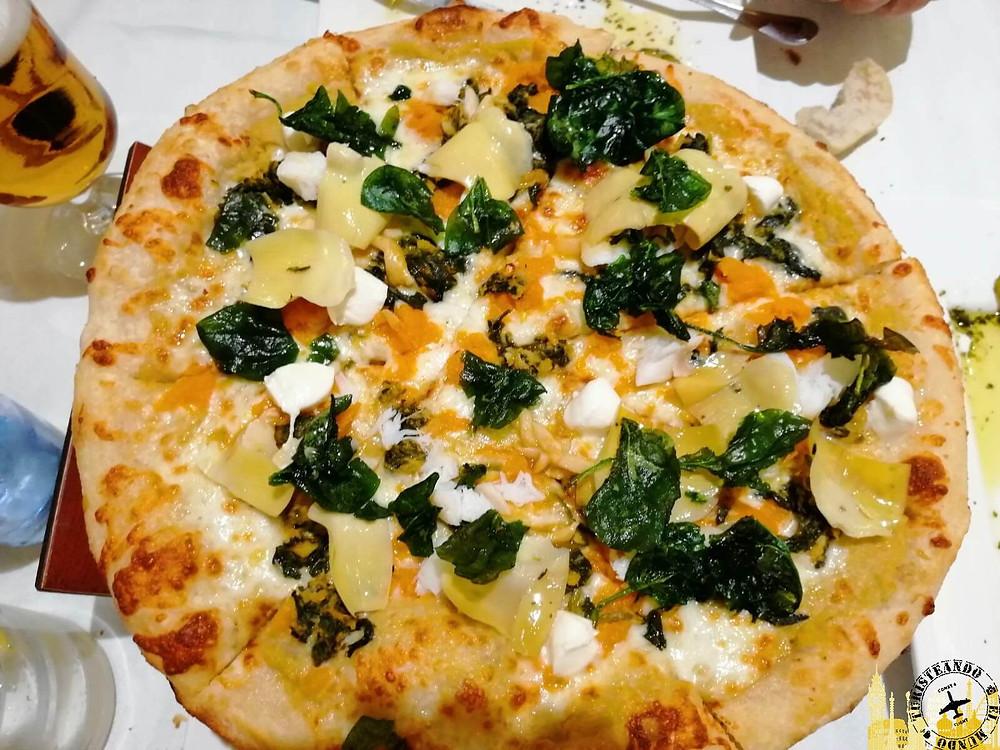 Tomelloso (Castilla la Mancha). Pizza Marquinetti