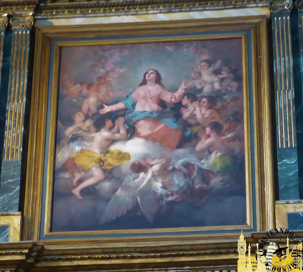 La Asunción de la Virgen. (Goya). Chinchón