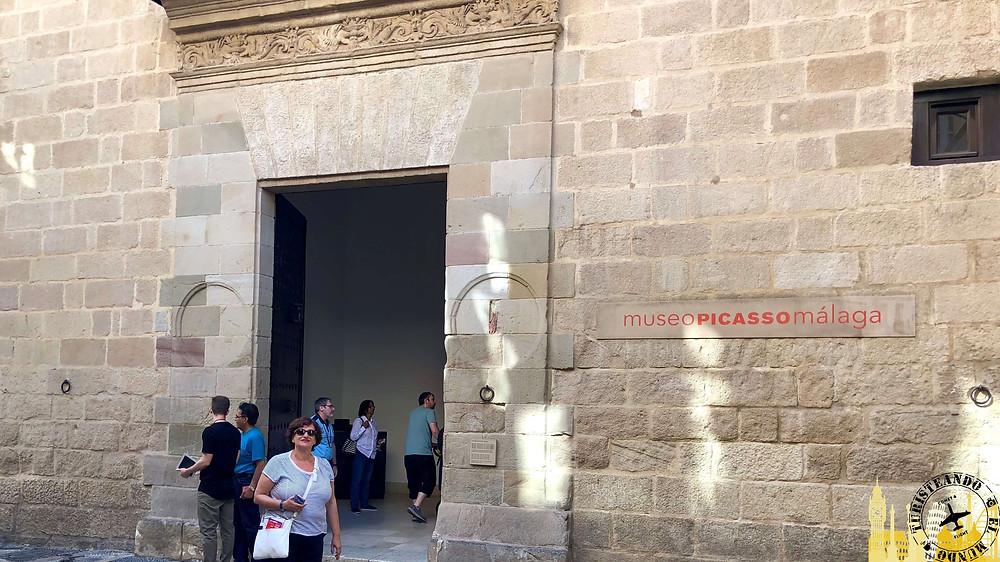 Museo de Picasso en Málaga, España