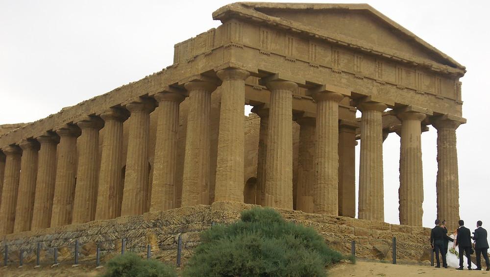 Templo de la Concordia. Agrigento (Italia)