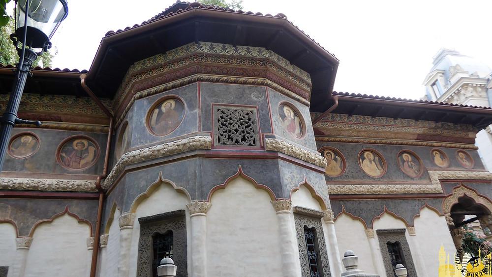 Iglesia Stavropoleos, Bucarest (Rumanía)