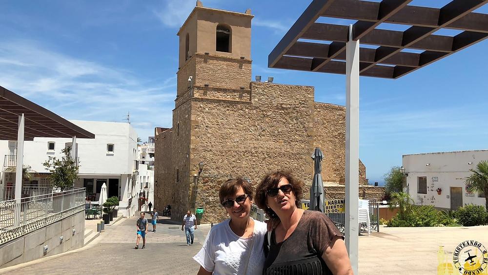 Iglesia Santa María. Mojácar (Almería). España
