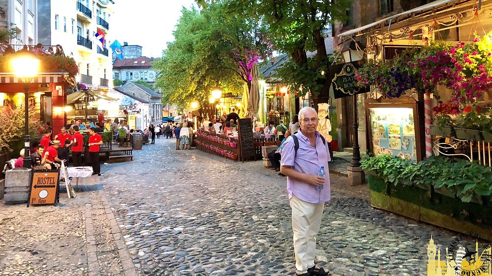 Calle Skardarlija. Belgrado