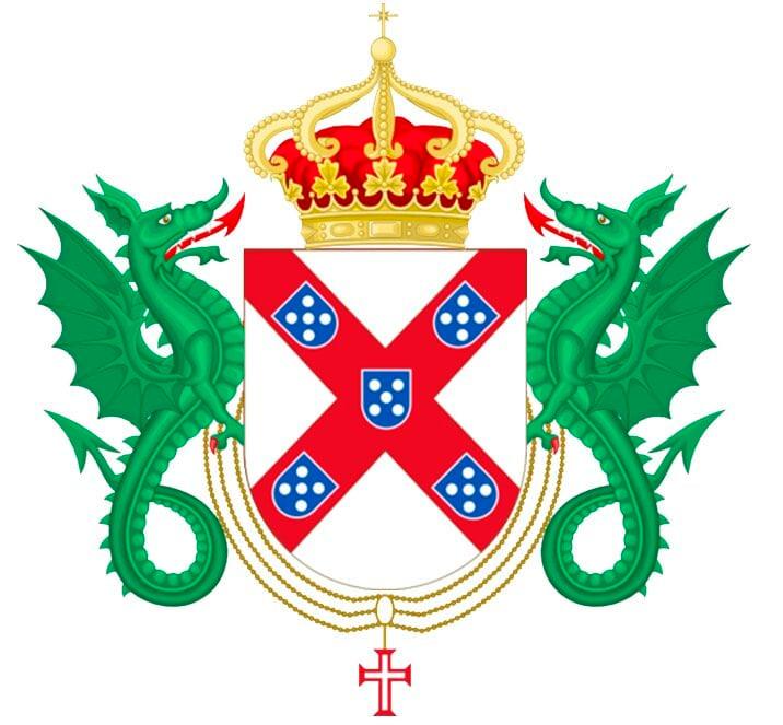 Escudo del ducado de Braganza