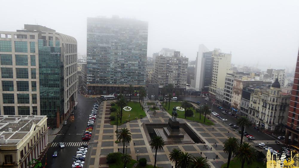 Plaza de la Independencia, Montevideo (Uruguay)
