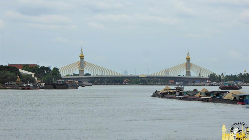 Bangkok desde el barco