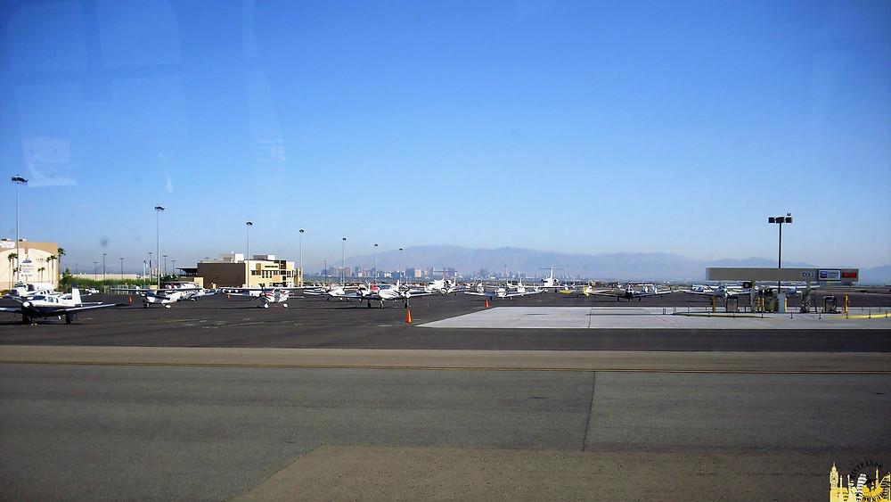 Aeropuerto Ejecutivo de Henderson. Las Vegas