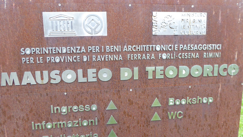 Mausoleo Teodorico, Ravena (Italia)