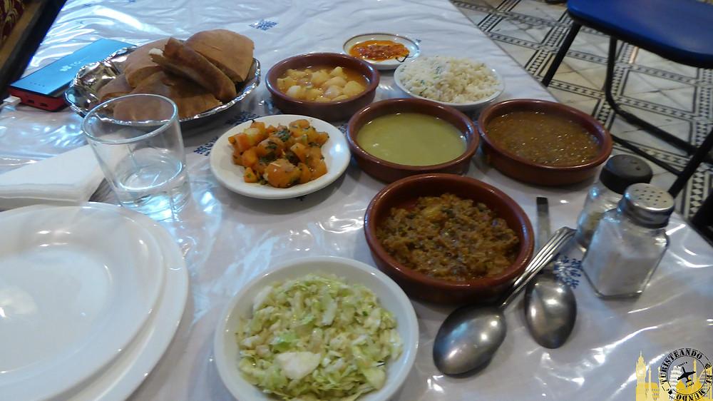 Restaurante Palais Tijani, Fez (Marruecos)