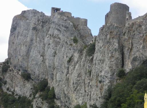 Castillo cátaro de Peyrepertuse (Francia)