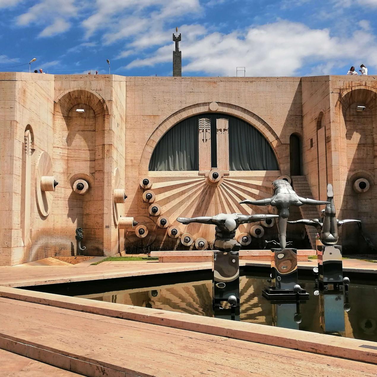 La Cascada y el Museo Kasfejia