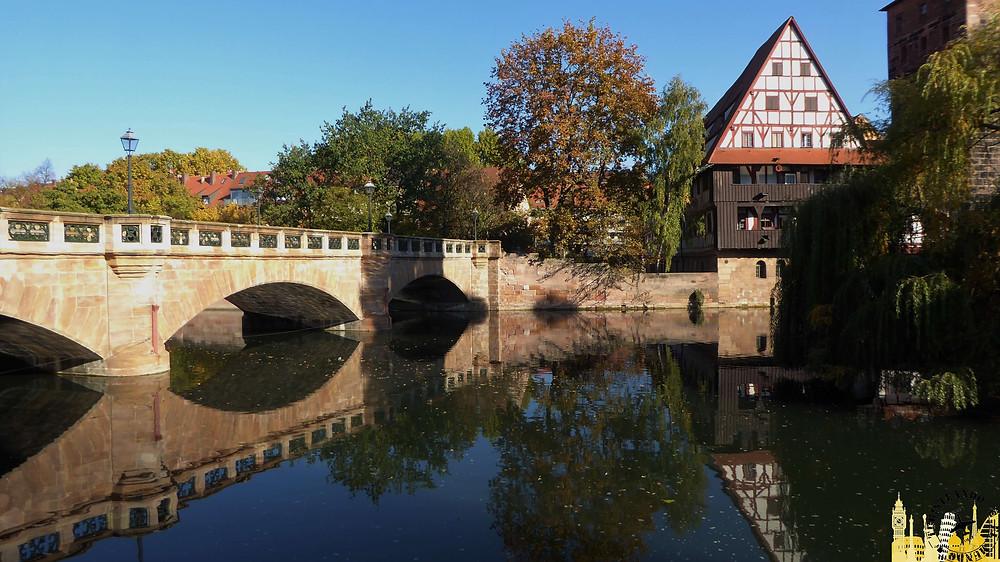 Nüremberg (Alemania). Puente Maximiliano
