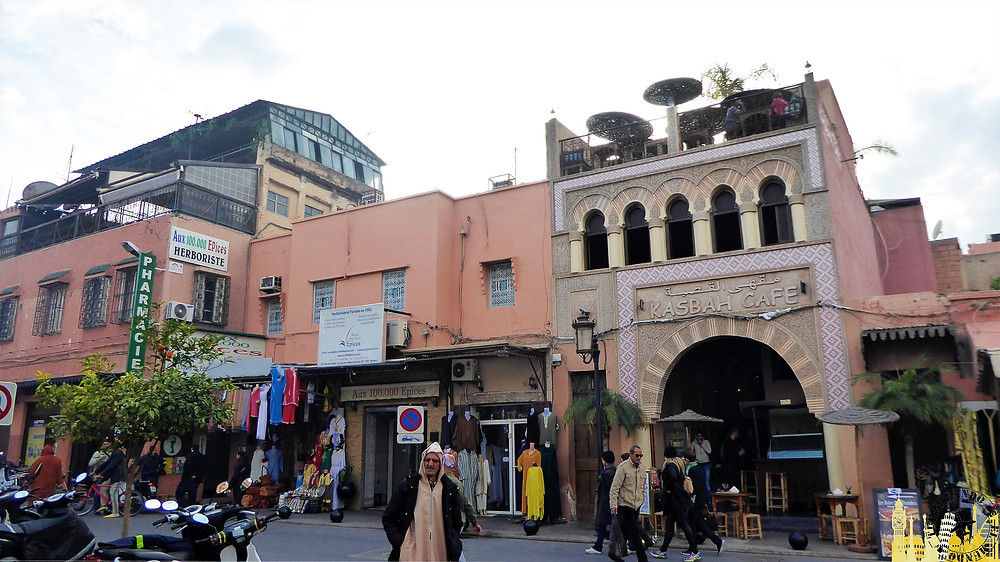 Barrio de la kasba, Marrakech (Marruecos)